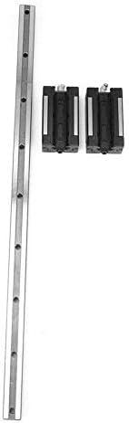 DJY-JY Professionelle Linearführungsschiene Wälzlagerstahl HGR20-500mm mit 2 Stück Slider-Block for automatische Geräte