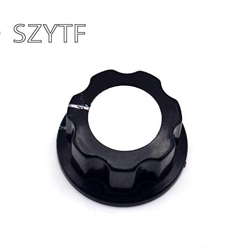 Xinini A03 potentiometer knob Bakelite knob potentiometer knob aluminum cap bakelite hat (Hat Bakelite)