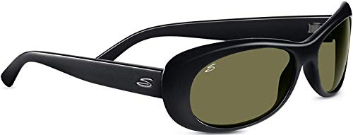 Serengeti 8206 Bella, Shiny Black Frame, Polarized 555nm Lens