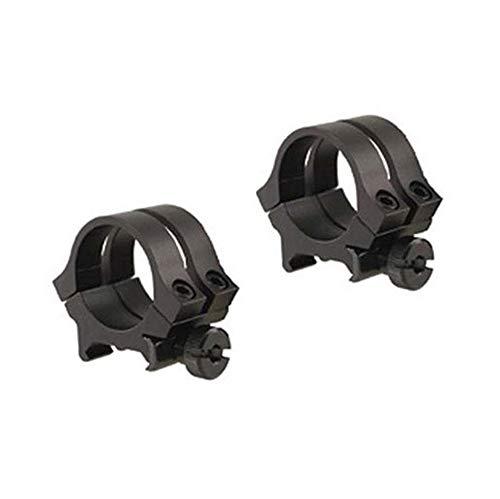 WEAVER 49046 Quad Lock 1-Inch Medium Detachable Rings (Matte Black) (Best 1 Inch Scope Rings)