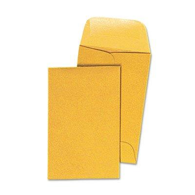 (Kraft Coin Envelope, 1, 2 1/4 x 3 1/2, Light Brown, 500/Box)