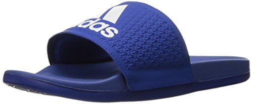 Adidas Performance Mens Adilette Cf Ultra C Sandalo Atletico Collegiale Royal / Bianco