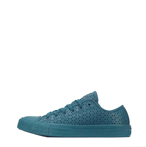 Converse Converse Chuck Taylor All Star Ox Low Perforated, Baskets mode pour femme Shadow Teal/Shadow Teal