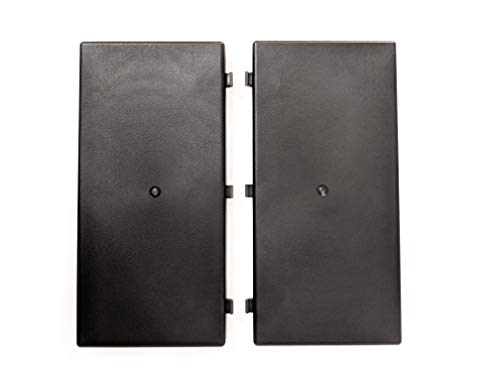 LapWorks Extension Pair for 4K TV Swivel - adds 12 inches (1 foot) to width for larger TV's and 2 Leg TVs - Heavy Duty,
