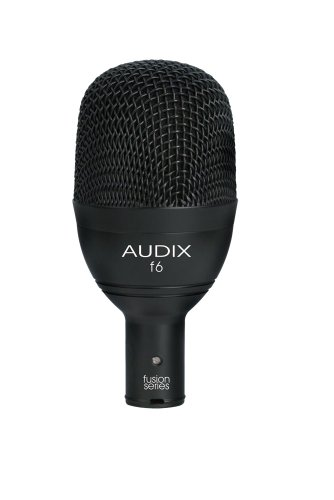 Audix F6 Instrument Dynamic Microphone, Hyper-Cardioid by Audix