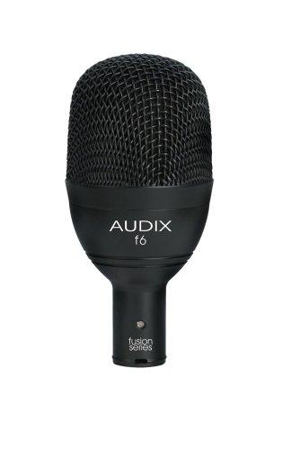 Audix F6 Instrument Dynamic Microphone, Hyper-Cardioid