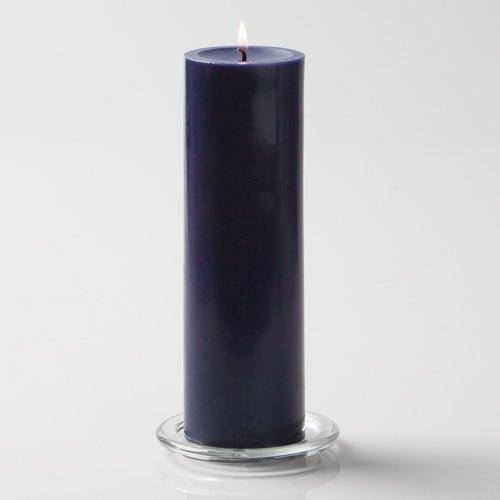 Blue pillar candles 3x9