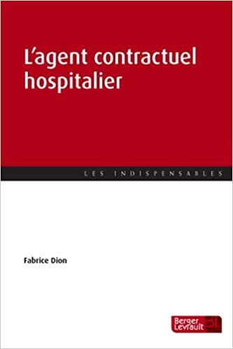 En ligne L'agent contractuel hospitalier pdf, epub ebook