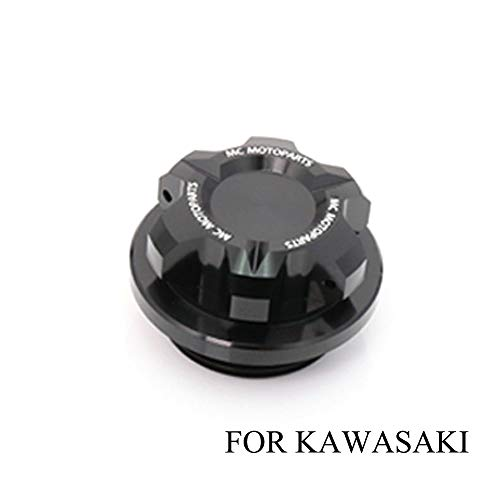 Ninja Files - T-Axis Black CNC Oil Filler Cap For Kawasaki ZX-10R Ninja ZX-6R 636 Ninja ZRX1200 2017 2018 2019 ZX-6RR