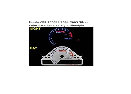(Street Racer Parts SRP1065 Silver Reverse Style Illumiglo Gauge)