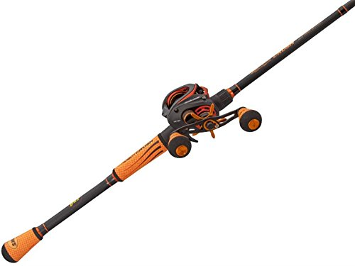 LEW'S FISHING Mach Crush Speed Spool SLP Combo, Baitcast Combo, Baitcasting Reel, Fishing Reel and Fishing Rod, Fishing Gear and Equipment, Fishing Accessories (MC1SH70MH) ()
