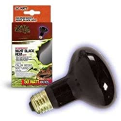 Central Garden & Pet - Aquatic Zilla Night Black Spot Heat Bulb 50 Watts