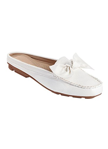 Adult Clog White Women's AngelSteps Mule Casual Juliet IzYIxv