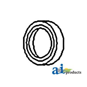 Eng Seal - A&I Products Seal, Rear Crankshaft (2900 SER ENG) Replacement for Allis Cha...