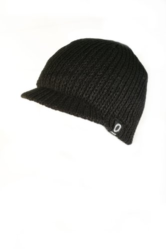 Chaos Hats Men's Jackson Acrylic Beanie (Black, One Size)
