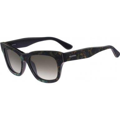 Valentino Men's Sunglasses, Camo Army Green, 53-18-140