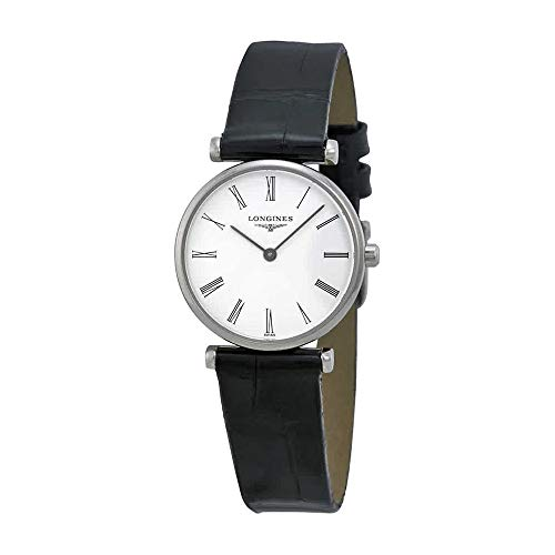 Longines La Grande Classique White Dial Black Leather Ladies Watch L4.209.4.11.2 ()