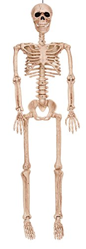 Crazy Bonez Posable Skeleton Decoration, -