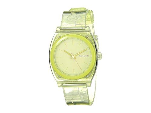 Nixon Women's Medium Time Teller P Lime One - Lime Pin Crystal