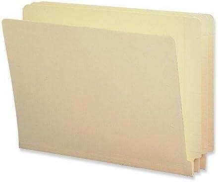 Letter 2-Ply 100//BX End Tab Folder Straight Tab Manila
