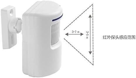 Timbre inal/ámbrico con bater/ía Timbre inal/ámbrico con bater/ía Tel/éfono inteligente Bater/ía de doble cara alimentada por m/ás de 38 cajas de m/úsica,