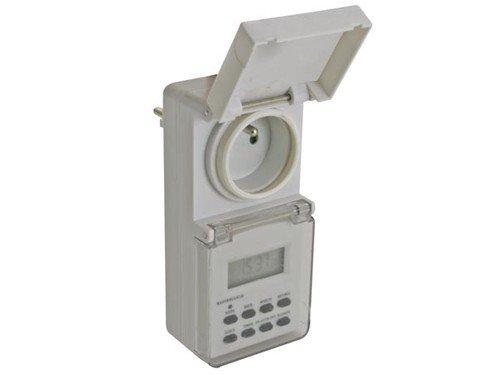 Veka - Programador exterior impermeable (con enchufe de 220 V) product image