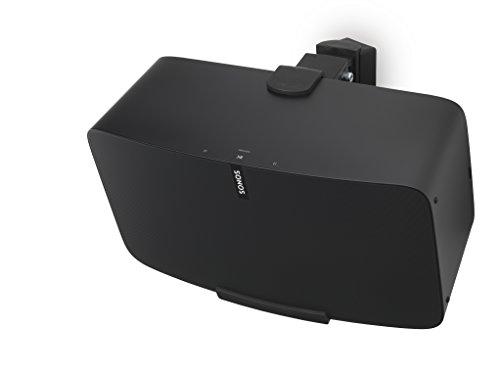 Flexson Wall Mount for Sonos PLAY:5 (Gen.2) Speakers Black FLXP5WM1024