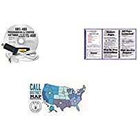 Kenwood TS-480HX Accessory Pack Bundle - - KRS 480 Programming Software/Cable - Nifty Guide and Ham Guides Pocket Reference Card Bundle!