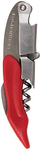 Le Creuset Waiter's Friend Corkscrew, Cerise (Cherry - Cerise Foil