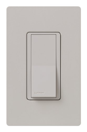 Lutron SC-3PS-TP Diva 15-Amp, 120-Volt to 277-Volt 3-Way Switch in Taupe