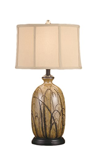 - Crestview Collection Nigel 1 Light Table Lamp, Black