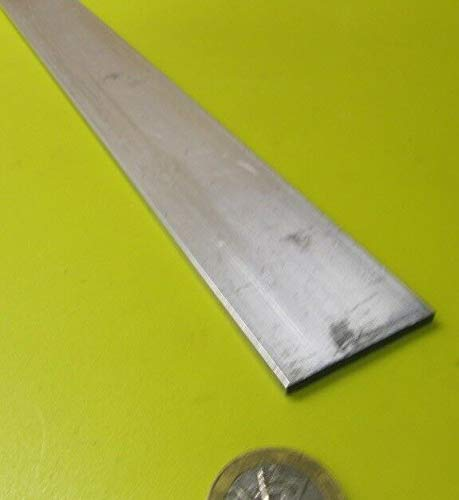 JumpingBolt 6061 T651 Aluminum Bar, 1/8'' (.125'') Thick x 1 1/2'' Wide x 36'' Length, 3 Units Material May Have Surface Scratches