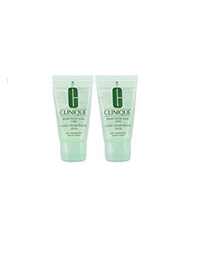 CLINIQUE LIQUID FACIAL SOAP MILD 60ml (2 x 30ml)