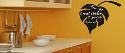 Tí lámina de pizarra pegatinas para hostelería & decorativo ...