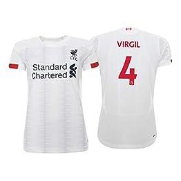 Maillot Virgil Van Dijk Liverpool FC Blanco 2019/20 - Femme