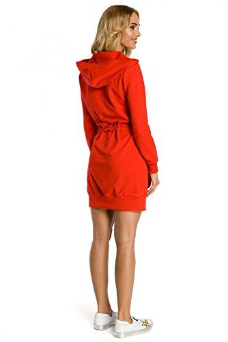 Tasche Rot mit Clea Känguru Kleid Kapuze und w5CYY8Xq