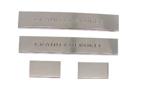 2011-2014 Jeep Grand Cherokee Door Sill Guards - Mopar OEM