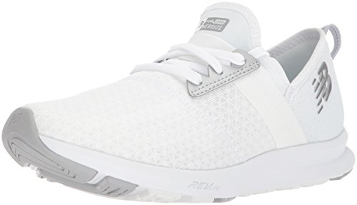 New Balance Women's Nergize v1 Fuelcore Cross Trainer, White/White, 65 D US