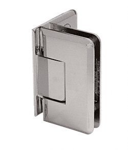 C.R. LAURENCE C0L044BN CRL Brushed Nickel Cologne 044 Series Wall Mount Offset Back Plate Hinge ()
