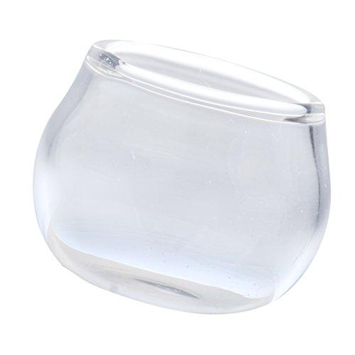 Perfk おもちゃ クリア ミニチュア 1:12スケール 水槽モデル フィッシュタンク模型 ガラス製の商品画像