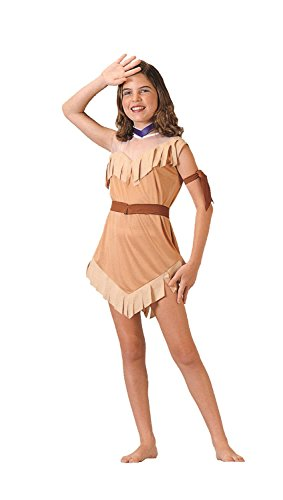 Costumes Pocahontas Kids (RG Costumes Native American Girl Costume, Brown,)