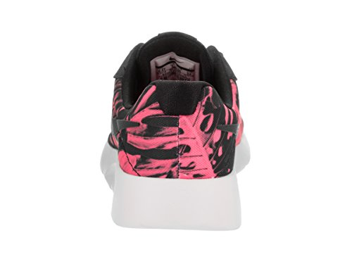Nike Kids Tanjun Print (gs) Scarpa Da Corsa Nero / Nero / Bianco / Iper Rosa