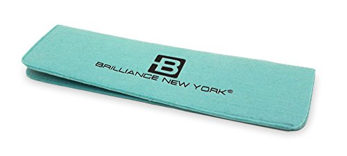 Brilliance New York - Heat Resistant Mat, Convenient Protection for Styling Tools, Turquoise