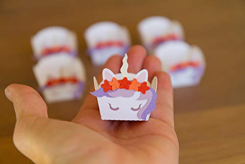 (Unicorn candy cups (set of 20))
