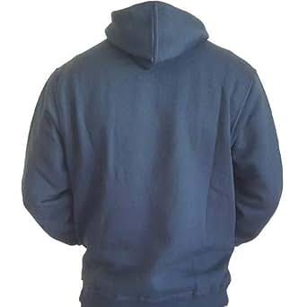 AM99 Black Mixed Materials High Neck Hoodie & Sweatshirt For Men