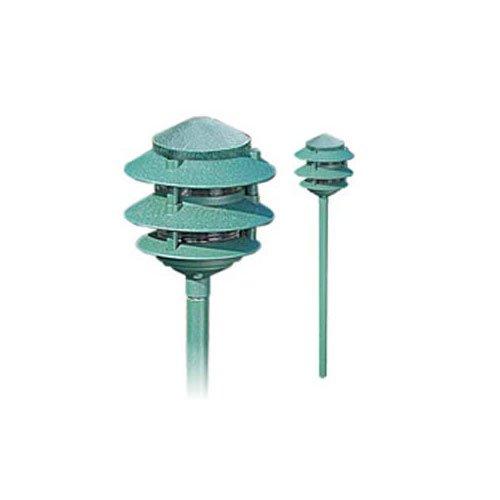 - Hadco Lighting PL39-KS7 PL39-KS7 12 Volt 2 Tier Pagoda Path Light with Stake 12V