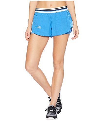 adidas Women's Stella McCartney Shorts Ray Blue Large 2.5 2.5