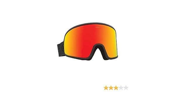 d850c227b4b Amazon.com   Electric Eyewear Men s Electrolite Matte Black Brose Red  Chrome Goggles   Sports   Outdoors