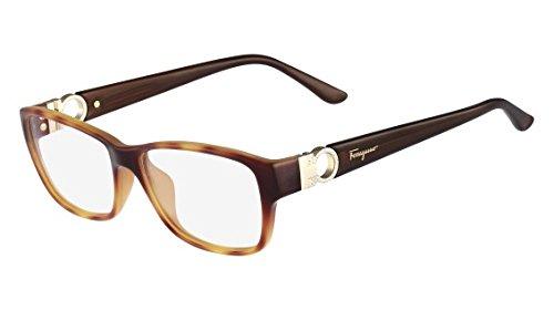 Amazon.com: SALVATORE FERRAGAMO Eyeglasses SF2666R 212 Light ...