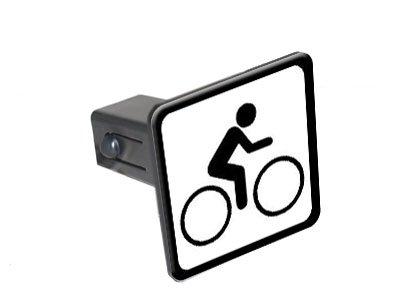 Amazon Bike Biking Cycling Sign Symbol Tow Trailer Hitch Cover